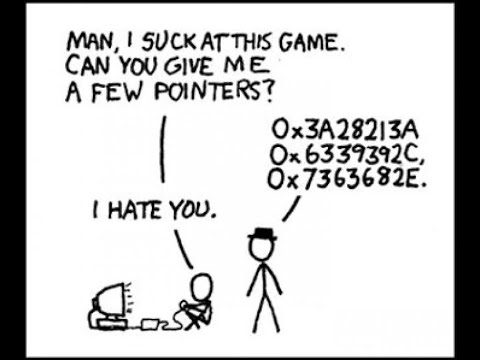 XKCD Comic on Pointers